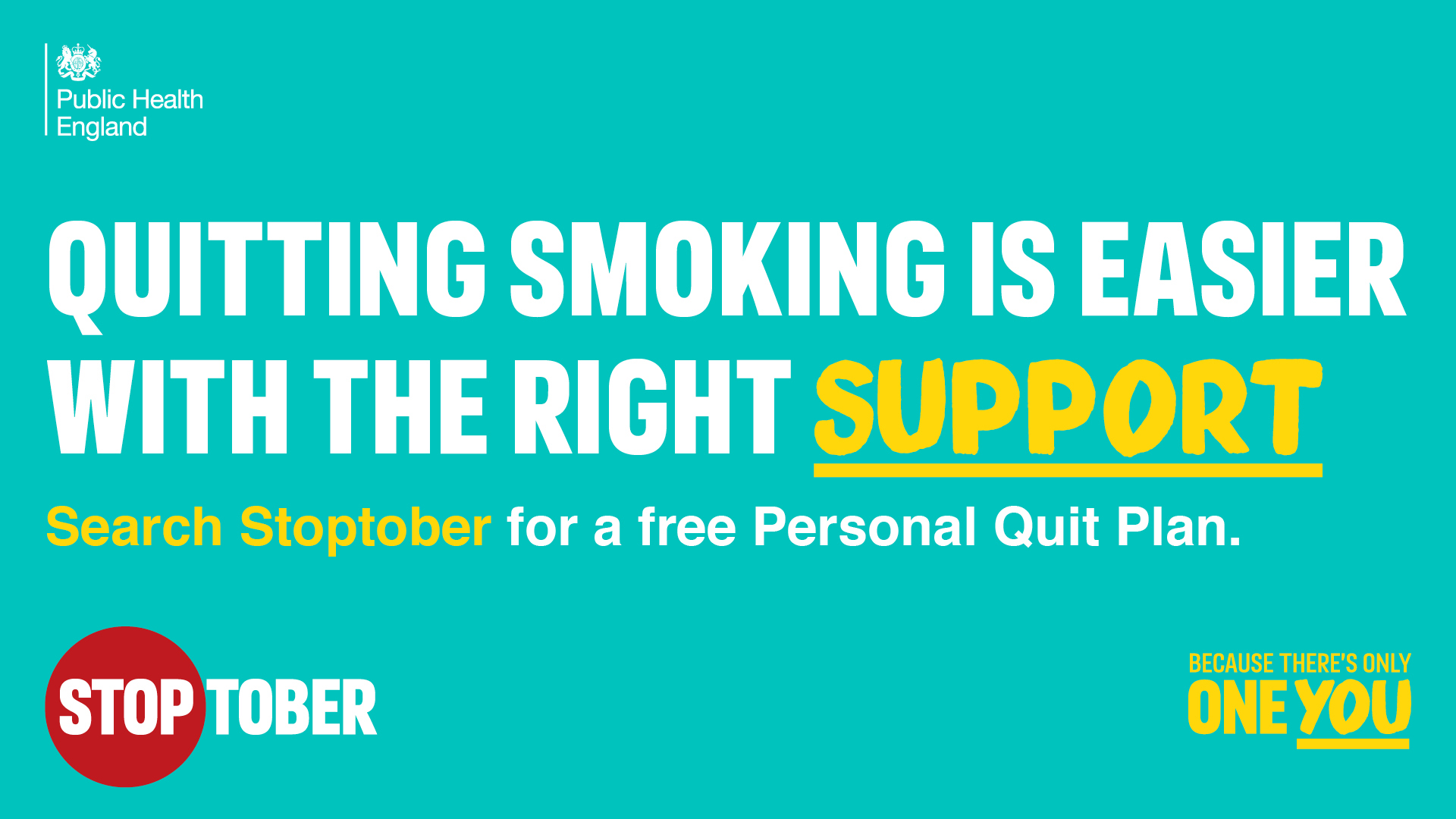 Quitting smoking is easier with the right support