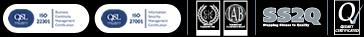 An ISO 9001 accreditation